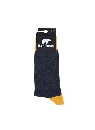 Bad Bear Uzun Çorap Antrasit